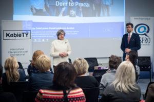 debata dom to praca Bogna Stawicka Rafał Górski