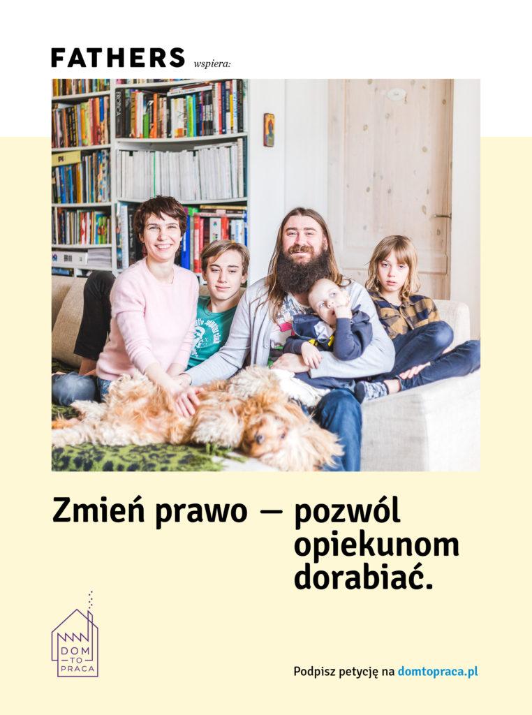 Magazyn Fathers wspiera Dom to Praca